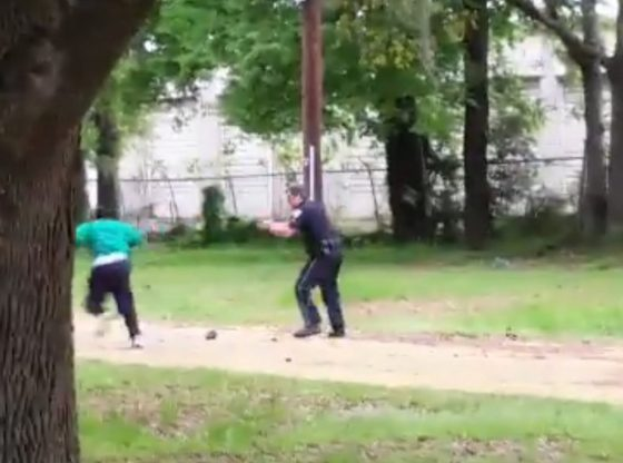 North Charleston, South Carolina police officer, Michael T. Slager shoots Walter Scott in Back. No Justice No Peace